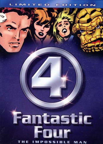 Fantastic Four (4) - The Impossible Man (Limited Edition) DVD Movie
