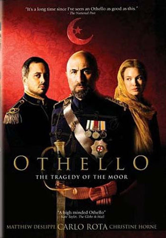 Othello: The Tragedy of the Moor DVD Movie