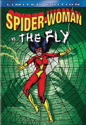 Spider-Woman Vs. the Fly DVD Movie