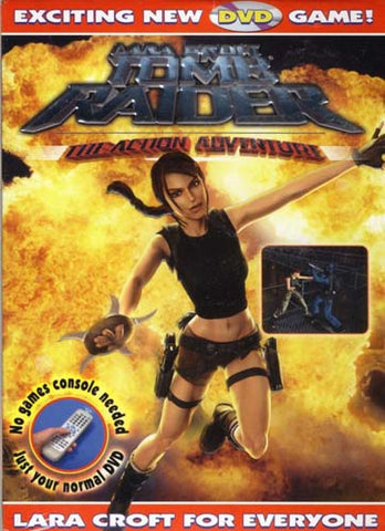 Lara Croft Tomb Raider - Action Adventure Interactive Game DVD Movie