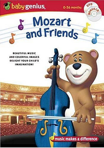 Baby Genius Mozart and Friends (With bonus CD) DVD Movie
