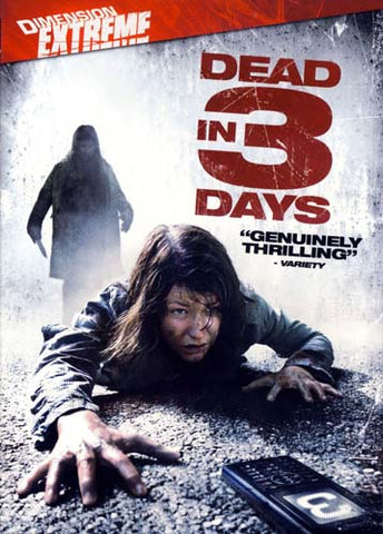 Dead in 3 Days DVD Movie