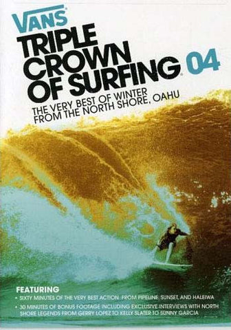 Vans Triple Crown of Surfing 04'- Very Best of Winter From The North Shore, Oahu DVD Movie