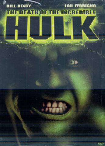 The Death of the Incredible Hulk DVD Movie