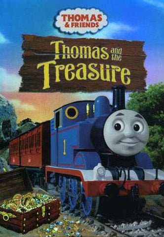 Thomas the Tank Engine: Thomas and the Treasure DVD Movie