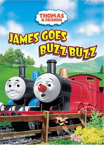Thomas and Friends - James Goes Buzz Buzz DVD Movie
