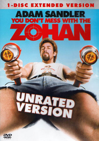 You Don t Mess With the Zohan (1-Disc Extended Version) DVD Movie