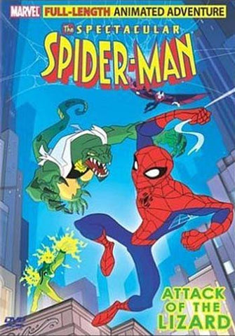 The Spectacular Spider - Man - Attack of the Lizard DVD Movie