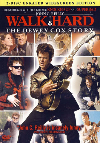 Walk Hard - The Dewey Cox Story (Two-Disc Urated Widescreen Edition) (Bilingual) DVD Movie