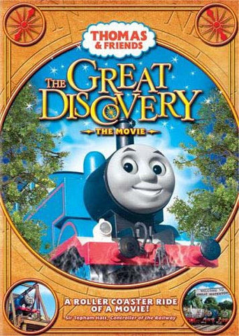 Thomas And Friends - The Great Discovery - The Movie (La Grande Decouverte - Le Film) DVD Movie