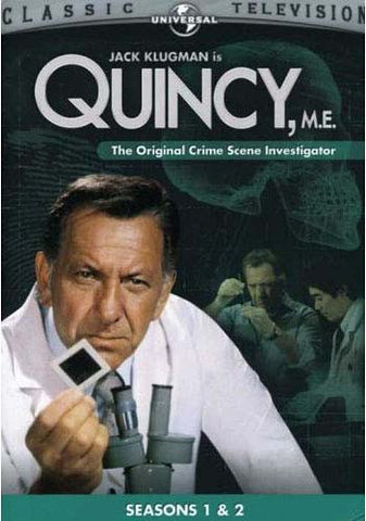 Quincy, M.E. - The Original Crime Scene Investigator Season 1 and 2 (Boxset) DVD Movie