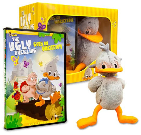 Ugly Duckling Goes on Vacation With Cuddly Plush Toy (BoxSet) DVD Movie