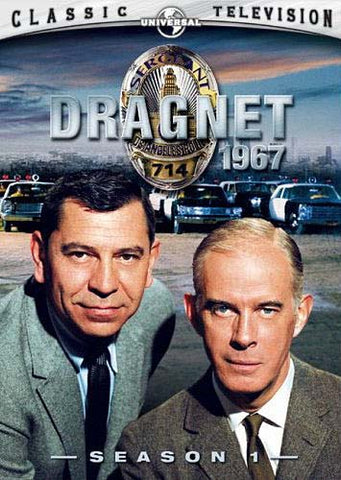 Dragnet 1967: Season 1 (Boxset) DVD Movie