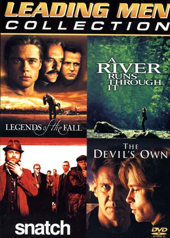 Leading Men Collection (Legends of the Fall, A River Runs Through It, Devil's Own,Snatch) (Boxset) DVD Movie