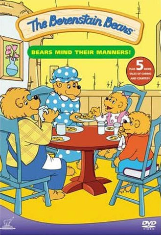 Berenstain Bears - Bears Mind Their Manners DVD Movie