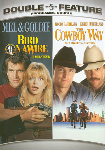Bird on a Wire / The Cowboy Way (Double Feature) (Bilingual) DVD Movie