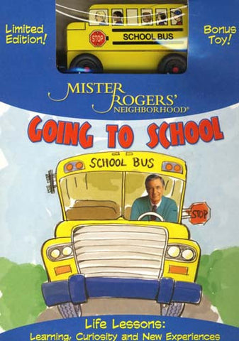 Mister Rogers  Neighborhood - Going to School (with Toy Bus) (Boxset) DVD Movie