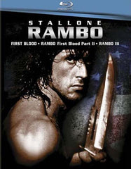 Rambo 1 - 3 (Rambo First Blood/Rambo - First Blood Part II/Rambo 3) (Bilingual) (Boxset) (Blu-ray)