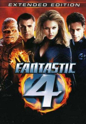 Fantastic Four (4) (Two-Disc Extended Edition) DVD Movie