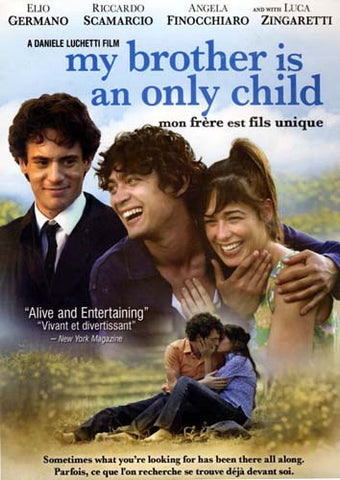 My Brother Is an Only Child / Mon Frere Est Fils Unique DVD Movie