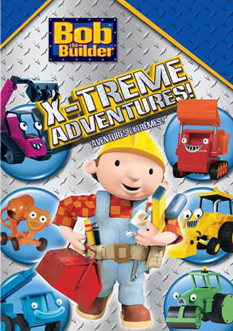 Bob The Builder - X-Treme Adventures (Bilingual) DVD Movie