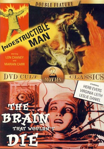 Indestructible Man/The Brain That Wouldn't Die DVD Movie