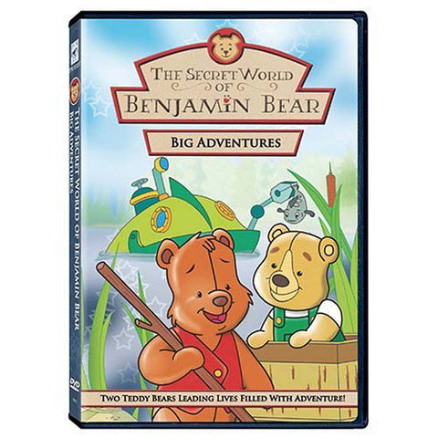The Secret World of Benjamin Bear - Big Adventures DVD Movie