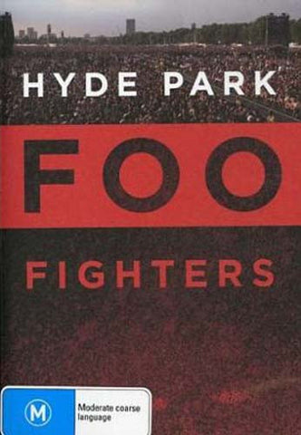 Foo Fighters - Hyde Park DVD Movie