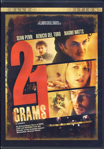 21 Grams (Collector s Edition) (Bilingual) DVD Movie