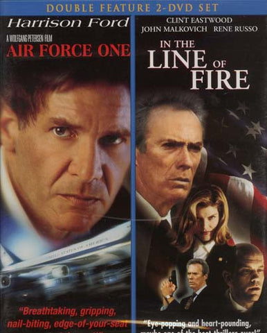 Air Force One/ In The Line Of Fire  (Double Feature) DVD Movie
