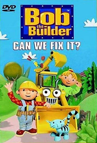 Bob the Builder - Can We Fix It? DVD Movie