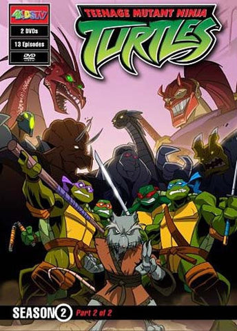 Teenage Mutant Ninja Turtles - Season 2, Part 2 Of 2 DVD Movie