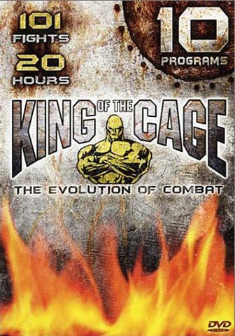 King Of The Cage - The Evolution Of Combat - 10 Programs (Boxset) DVD Movie