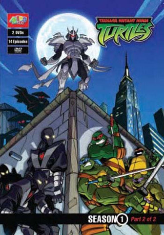 Teenage Mutant Ninja Turtles - Season 1 - Part 2 Of 2 DVD Movie