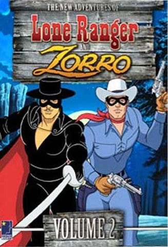 The New Adventures of the Lone Ranger and Zorro - Vol.2 (Boxset) DVD Movie
