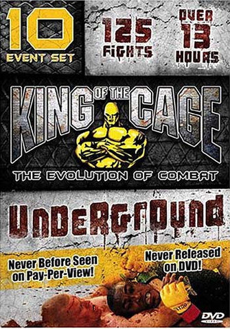 King of the Cage: Underground (Boxset) DVD Movie