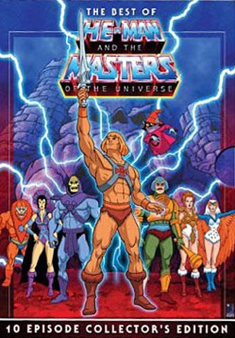 The Best Of He-Man And The Masters Of The Universe (10 Episode Collector s Edition) DVD Movie