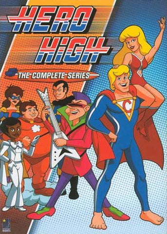 Hero High - The Complete Series (Boxset) DVD Movie