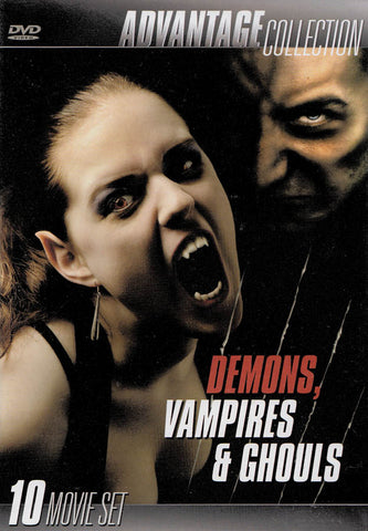 Advantage: Demons, Vampires & Ghouls (Boxset) DVD Movie