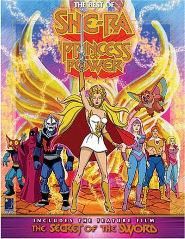 The Best of She-Ra - Princess of Power (Boxset) DVD Movie