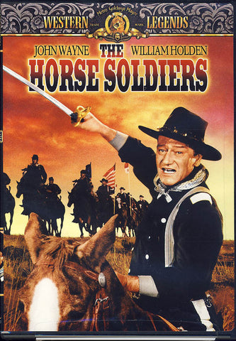 The Horse Soldiers (MGM) DVD Movie