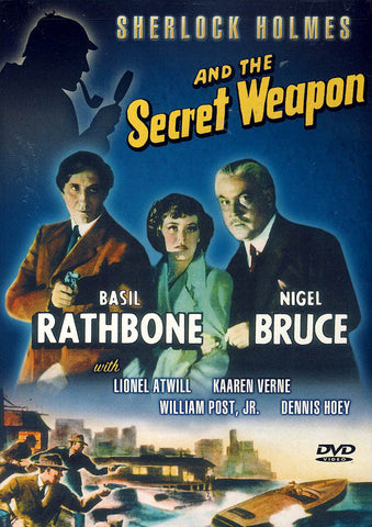 Sherlock Holmes and the Secret Weapon DVD Movie
