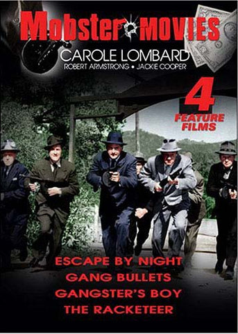 Mobster Movies - Escape by Night, Gang Bullets, Gangster's Boy, and The Racketeer DVD Movie