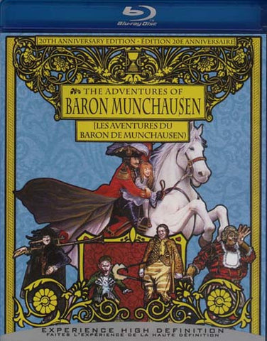 The Adventures of Baron Munchausen (20th Anniversary Edition) (Blu-ray) BLU-RAY Movie