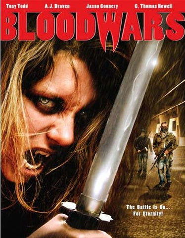 Blood Wars DVD Movie