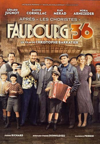 Faubourg 36 (Bilingual) DVD Movie
