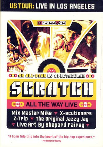 Scratch - All the Way Live DVD Movie