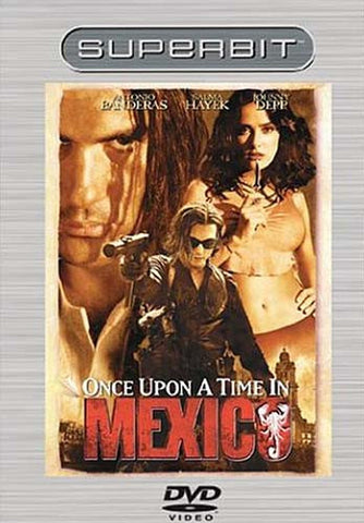 Once Upon a Time in Mexico (Superbit Collection) DVD Movie
