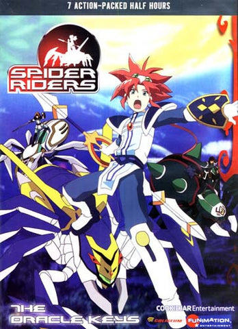 Spider Riders - The Oracle Keys - V.1 DVD Movie