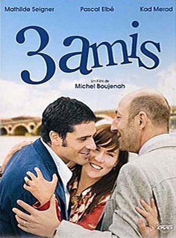 3 amis DVD Movie